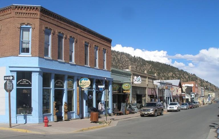 Main Street in Idaho Springs