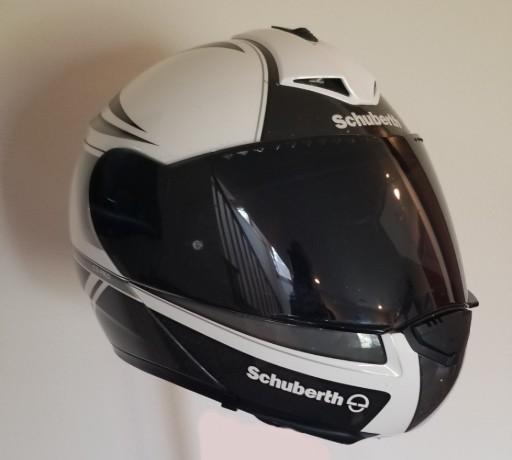Schuberth C3 helmet.