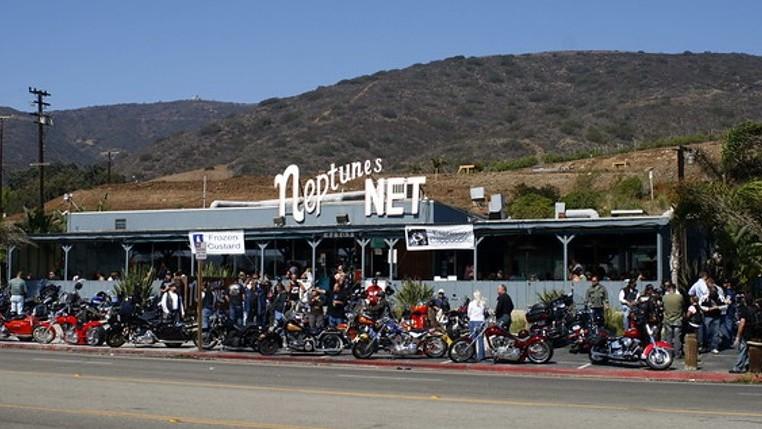 Neptunbe's Net seafood restaurant
