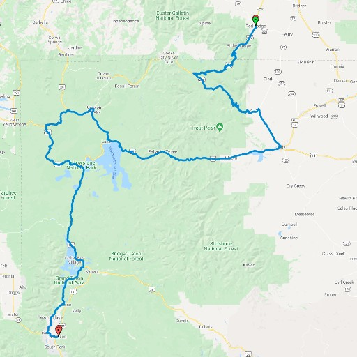 Tour Greater Yellowstone's Top Three Roads