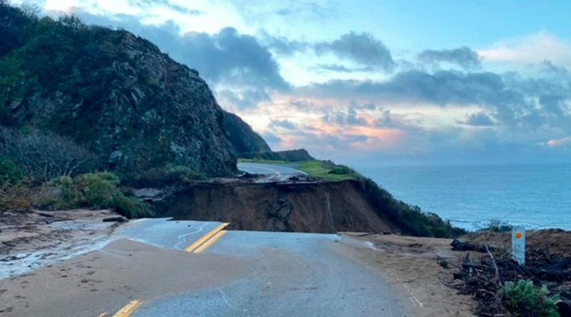 UPDATED: Mudslide at Big Sur Disrupts Tour Plans